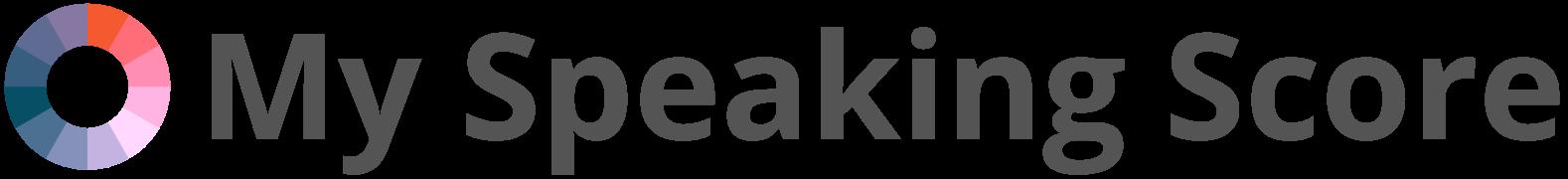 My Speaking Score Image